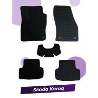 Коврики eva с 3d лапой для Skoda Karoq